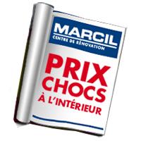 circulaire marcil – centre de rénovation circulaire - flyer - catalogue en ligne